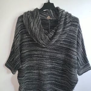 Loft Cowl Neck Sweater with Dolman Sleeves